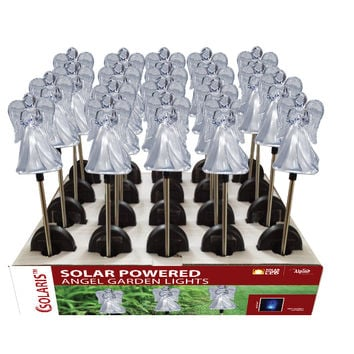 Solar Angel Garden Stake - Tray Pack Of 20