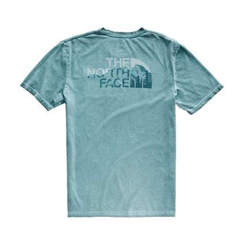 Men's Shadow Wash Pocket Tee Shirt by The North Face