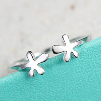 Originality Latest Flowers Sterling Silver Ring
