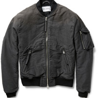 Our Legacy - Brushed Cotton-Canvas Bomber Jacket | MR PORTER