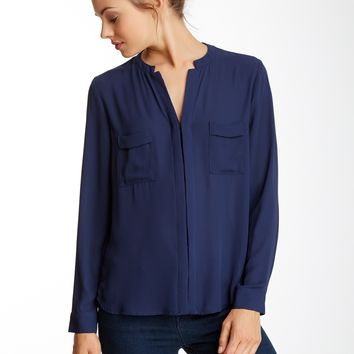 Ro & De | Ro & De Pocket Blouse | Nordstrom Rack