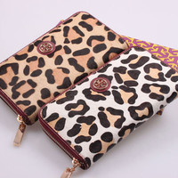 Tory Burch Cheetah Wallet from Patsy's Pink Sparkle