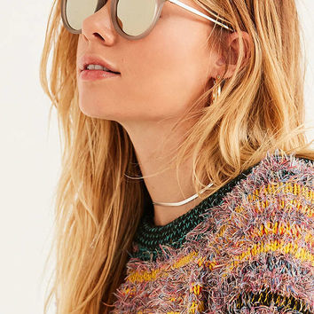 Le Specs No Smirking Polarized Round Sunglasses | Urban Outfitters