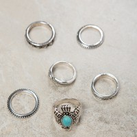 Eagle Multi Ring Set