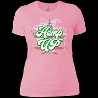 Hemp Up America Ladies' Boyfriend T-Shirt