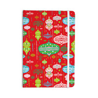 "Miranda Mol ""Ornate Red"" Ornaments Everything Notebook"
