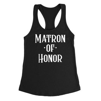 Matron of honor tank top, babe of honor, maid of honor Tank Top
