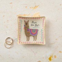 Llama Mini Glass Tray