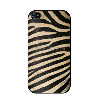 Zebra Print iPhone 4 iPhone 4 case iPhone 4S case by caseOrama