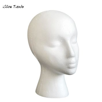 Mannequin Manikin Head Model For Wig Hat Mould Show Stand Display mannequin for hairstyles
