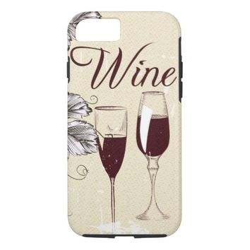 Red Wine iPhone 8/7 Case