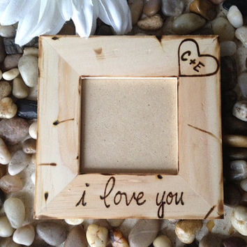 Shop Personalized Wedding Gift Frames on Wanelo