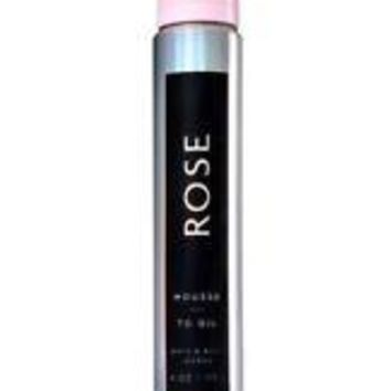 Bath & Body Works ROSE MOUSSE To Oil 4 oz