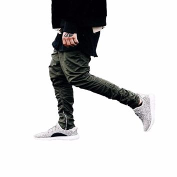 cc hcxx Side Zipped Skinny Joggers