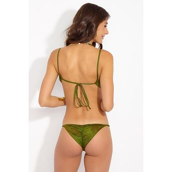 Sweetheart Skimpy Bikini Bottom - Prickly Pear Tie Dye
