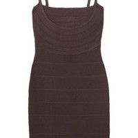 Herve Leger Thin Straps Bandage Dress