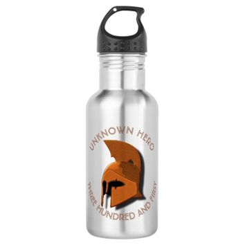 Unknown Spartan 301th Hero Greek Helmet Stainless Steel Water Bottle