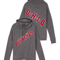 The Ohio State University Cowl-Neck Pullover - PINK - Victoria's Secret