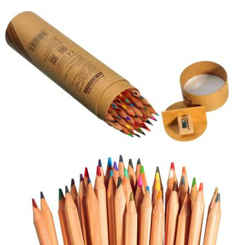 ASTL Professional Marco Raffine Fine Art colored pencils 36 Colors Drawing Sketches Mitsubishi Colour Pencil School Supplies