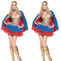 Wonder Women Cosplay Anime Cosplay Apparel Holloween Costume [9211506692]