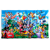 Mickey Mouse and Friends Storybook Beach Towel - Walt Disney World