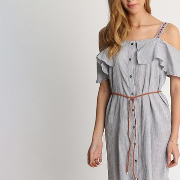 Feeling Joy Stripe Dress | Ruche