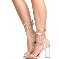 Cape Robbin Bailey3 Nude Women's High Heel