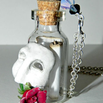 Opera Mask and Rose