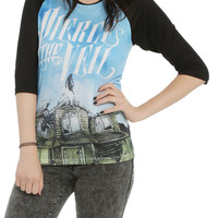 Pierce The Veil Collide Girls Raglan