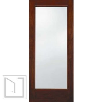 jeld-wen A5037 Mahogany Woodgrain Door Cherry Finish Low-E IG Glass