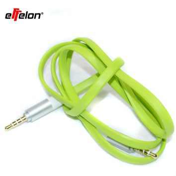 Effelon 4 Pole 3.5mm jack audio cable male to male  flat aux cable for PM4 PM3 / headphone aux cord