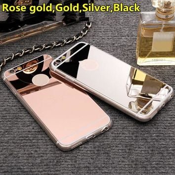 Luxury Mirror Flash Fashion Phone Case For iPhone