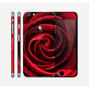 The Layered Red Rose Skin for the Apple iPhone 6 Plus