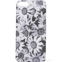 With Love From CA Photo Real Daisies iPhone 5/5G Case - Womens Scarves - Black - One