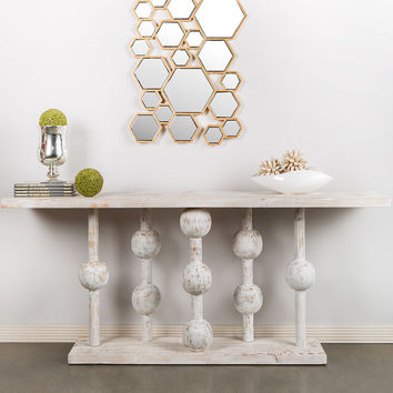 Statements by J Milagro Console Table - Grey