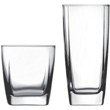 Rio 16-Piece Drinkware Set - Walmart.com