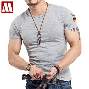 New 20 Colors Round neck Tactical T Shirt Men Army T-shirt Military Tshirt Cotton Tee Shirts Plus Size S-5XL Roupas Masculinas