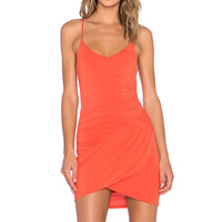 krisa Gather Cami Mini Dress in Sunset
