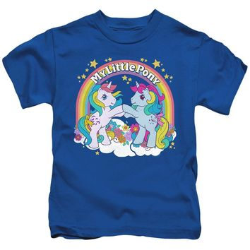 My Little Pony Boys T-Shirt Windy and Moonstone Royal Tee