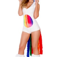Deluxe Magical Unicorn Romper Costume