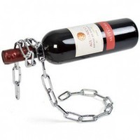 INFMETRY:: Magic Iron Chain Wine Bottle Holder - Kitchen - Home&Decor
