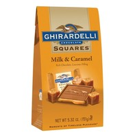 Milk & Caramel SQUARES Stand Up Bag