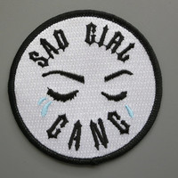 Sad Girl Gang Patch