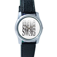 Swag Illusionary Graphic Illustration Wrist Watch