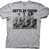 Workaholics Gotta Be Fresh Heathered Gray Adult T-shirt - Workaholics - | TV Store Online