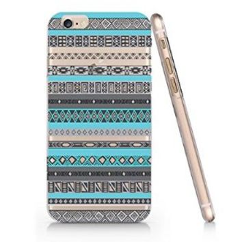Aztec Chevron Pattern Slim Iphone 6 Case, Clear Iphone 6 Case Plastic Hard Case Unique Design-Quindyshop (AMSL4)