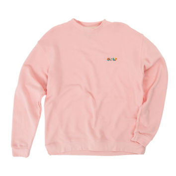 GOLF 3D MINI LOGO CREWNECK PINK