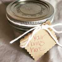 Caramels in a Jar Wedding Favors
