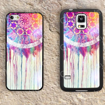 Dream colorful Watercolor iphone 4 4s iphone  5 5s iphone 5c case samsung galaxy s3 s4 case s5 galaxy note2 note3 case cover skin 162