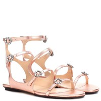 Naia embellished leather sandals